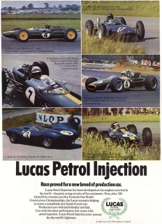 Lucas petrol injection advert