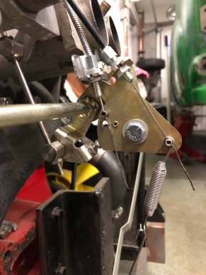 TR6 choke cable upgrade