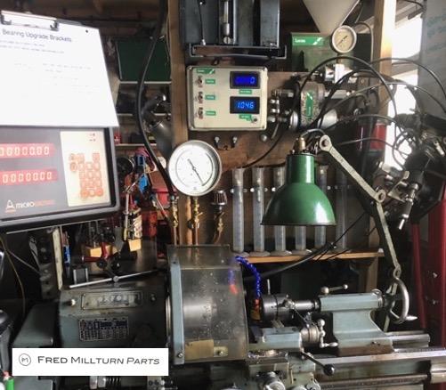 Lucas PI test rig